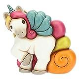 THUN - Unicorno Grande galoppante - Ceramica - h 18 cm - Linea I Classici