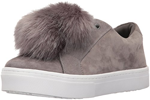 Sam Edelman Leya, Sneaker, Grau (Grey), 37.5 EU (5.5 UK) (Womens Slip On Tennis-schuhe)