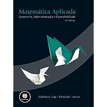 Matemática Aplicada: Economia, Administração e Contabilidade (Portuguese Edition)