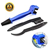 Bike Chain cleaner tool Motorcycle Set â'¬â€œ OIBTECH Durable Bicycle Chain Gears Maintenance Cleaning Brush Kit for All Type Chain GearsŒˆ3 Kinds‰