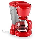 DomoClip DOM163R macchina per il caffè 800W 1,2L rossa
