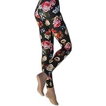 Silky - Leggings estampado floral para mujer