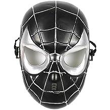 Máscara de Spider-Man Negro para Niñas hllw