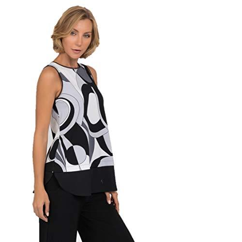 Joseph Ribkoff Black Grey & White Camisole Style 192825 - Spring/Summer 2019