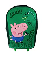Peppa Pig Wheeled Bag Children's Luggage, 40 cm, Green