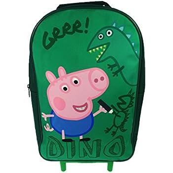 15c10e4879 Peppa Pig fille sac cabine Sac de voyage Bagage à main Valise à ...