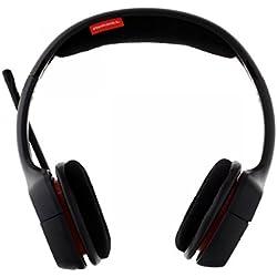 [Cable] Plantronics Gamecom 318 - Auriculares de diadema cerrados con micrófono, color negro