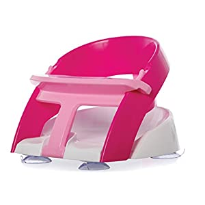 Dreambaby Premium Bath Seat with Scoop (Pink)
