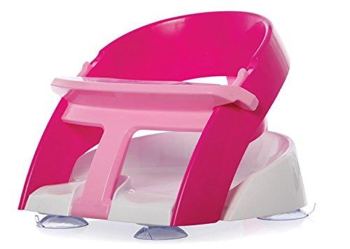 Dreambaby Anneau de bain ultra confort avec ouverture frontale et pelle, rose