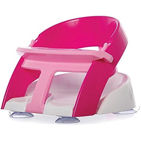 Dreambaby - Seggiolino da bagno Premium con annaffiatoio a cucchiaio, Rosa