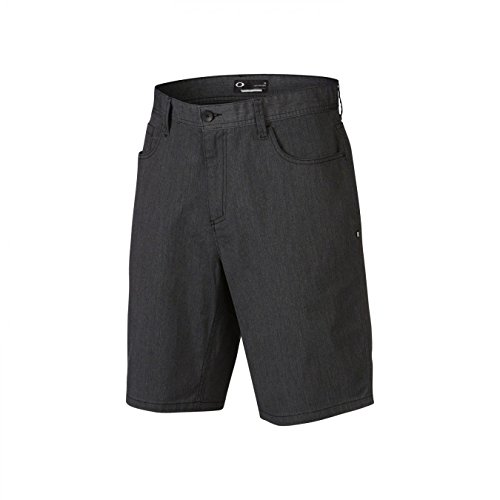 Oakley Herren Shorts 365, Blackout Lt Htr, 34, 442155