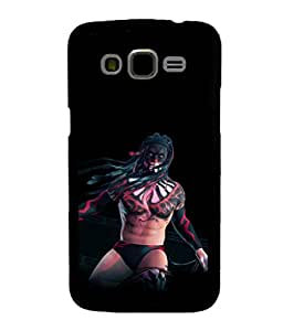printtech Tribal Man Wrestler Back Case Cover for Samsung Galaxy J7::Samsung Galaxy J7 J700F