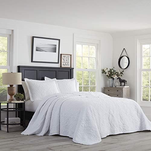 Stone Cottage Burch Bedspread Set, Queen, White - Cottage White Queen