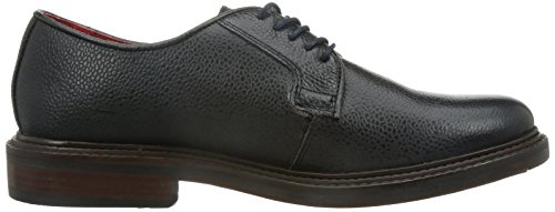 Base London Mens Base London Maudslay Lace Up Casual Leather Shoes Navy