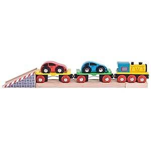 Bigjigs Rail Train de voitures