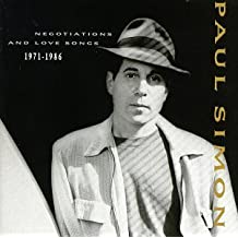 Negotiations And Love Songs 1971-1986 by Paul Simon (2000-05-17)