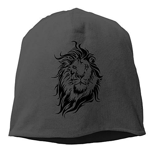 Unisex - Power Lion Fashion - Weiche, tägliche Beanie-Mütze Skull Cap one Size - Zutano Baumwolle Beanie