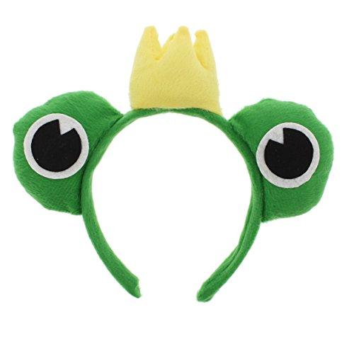 Zac s Alter Ego   King Frog Headband
