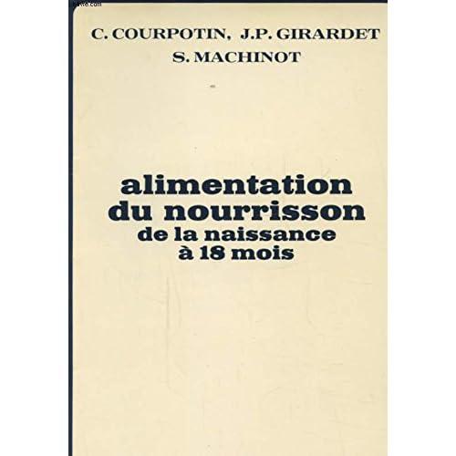 ALIMENTATION DU NOURRISSON DE LA NAISSANCE A 18 MOIS