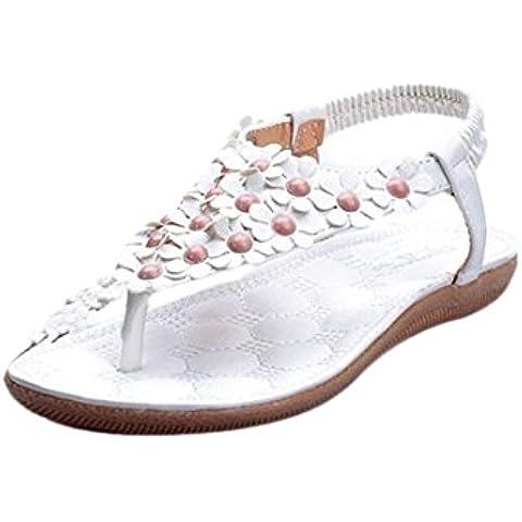 Fortan Scarpe Boemia dolce estate in rilievo dei sandali della
