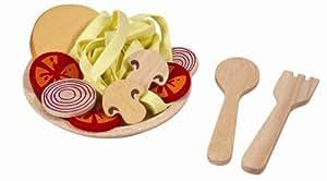 Plantoys - PT3466 - Jeu d'imitation - Assiette de Spaghettis