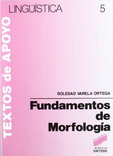 Fundamentos de morfología (Lingüística)