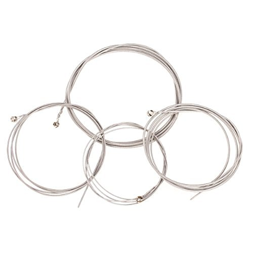 Demiawaking Set of 4 String Bass Guitar Parts 4 Steel Strings