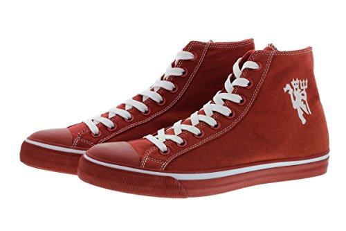 Manchester United 2016/17 Edition 1878 M115 Herren Sneaker Schuhe Leder Halbschuh Fan Sneakers (44) -