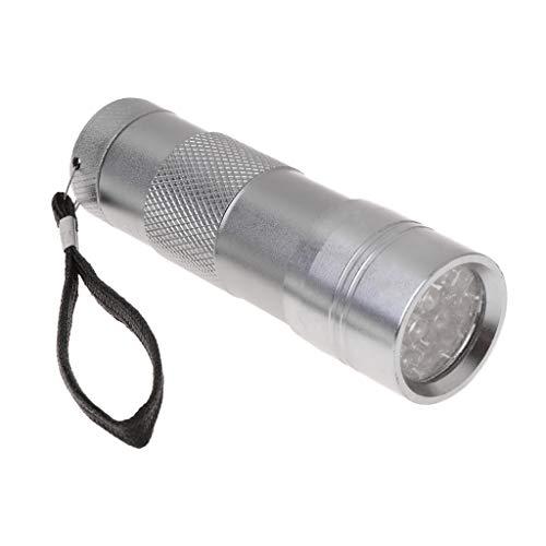 shanghaisty (1) Fliegenfischen-UVkleber-UVtaschenlampe, Multifunktions-Erkennung 12LED, Die Kleber-spezielle Taschenlampe Kuriert -