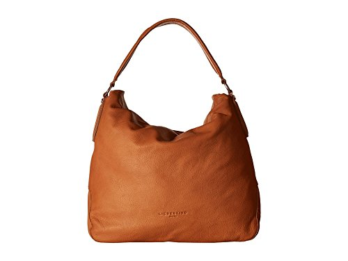Liebeskind Yokohama Sac à main porté épaule cuir 40 cm hazelnut brown