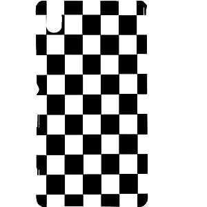 Casotec Pattern Design Hard Back Case Cover for Sony Xperia M4 Aqua