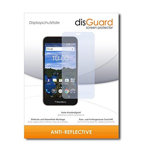 disGuard® Bildschirmschutzfolie [Anti-Reflex] kompatibel mit BlackBerry Aurora [2 Stück] Entspiegelnd, Matt, Antireflektierend, Extrem Kratzfest, Anti-Fingerabdruck - Panzerglas Folie, Schutzfolie