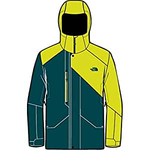 The north face - THE NORTH FACE - Veste Ski Homme - DUBS INSULATED JACKET M Vert/Jaune - tailles: M