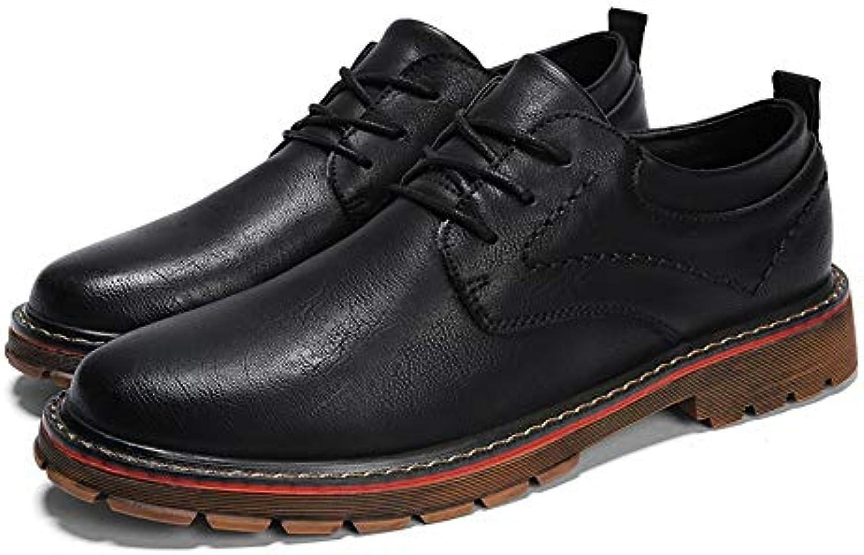 Jiuyue-scarpe, 2018 Moda Oxford Casual Casual Casual Comodo Low-Top Pure Coloree Lace Up Scarpe rossoonde Toe per Uomo Scarpe Uomo...   A Prezzo Ridotto    Maschio/Ragazze Scarpa  6191c5