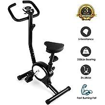 AGM Bicicleta Estáticas, Fitness Bike,Bicicleta de Entrenamiento Resistencia Ajustable, Consumo de calorías