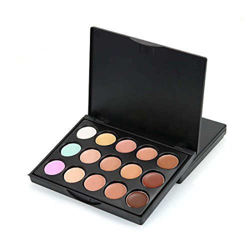 CAN_Deal Mini 15 couleurs de maquillage Correcteur Contour Palette