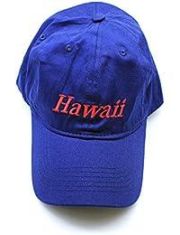 Hawai Swag Hawaii EmbroideRojo Sombrero de Gorro Sólido en Azul 8e851375238