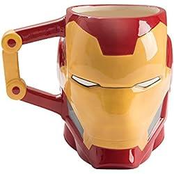 Marvel Avengers Iron Man 20 oz. Sculpted Taza De Cerámica