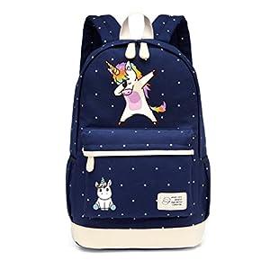 Dab unicornio mochila de dibujos