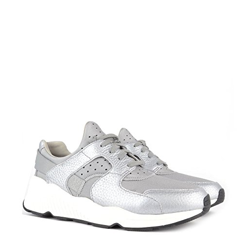 Ash Chaussures Matrix Neoprene Antic Argent Baskets Femme Antic Argent