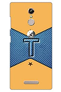 AMAN Jeans T 3D Back Cover for Gionee S6s