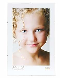 Deknudt Frames S200K9 Cadre Photo sous Verre en Verre 50 x 70 cm