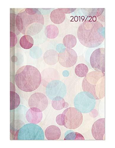 Preisvergleich Produktbild Campustimer Pastel Dream - A6 Semesterplaner - Studentenkalender 2019 / 2020 - Terminplaner - Notizbuch - Punkte