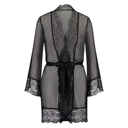 Hunkemöller Damen Kimono Chiffon Fine Lace XS/S