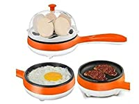 PETRICE Multifunction Double Layer Electricegg Cooker Egg Boilers & Steamer (Colour May vary)