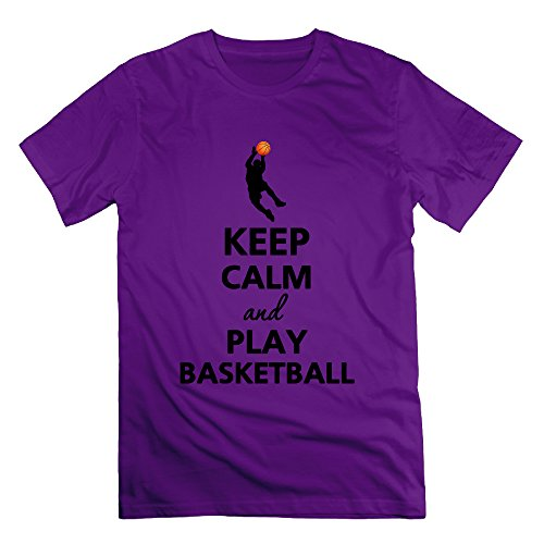 xj-cool-keep-calm-and-play-basket-ball-hommes-t-shirt-de-sport-deepheather-violet-m