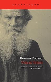 Vida de Tolstói par Romain Rolland