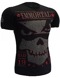 T-Shirt Bad Boy Immortal-s MMA BJJ Fitness Grappling Camiseta