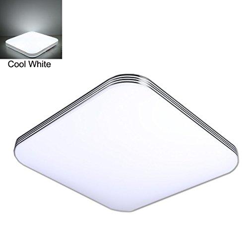 ZHMA 36W Ultra delgado LED Blanco Frío Moderno Techo Lámpara De, Techo Pasillo Salón Cocina Dormitorio De La Lámpara Ahorro De Energía 300mm*300mm*70mm