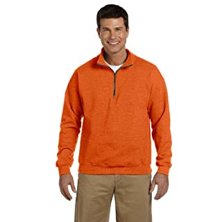 Gilan 18800 GD Adt 1/4Zp Fleece, Größe XL, Russet XXXL ORANGE